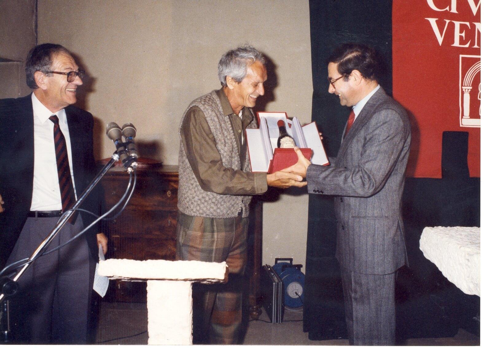 Ottavio Missoni - Premio Masi Civiltà veneta 1986