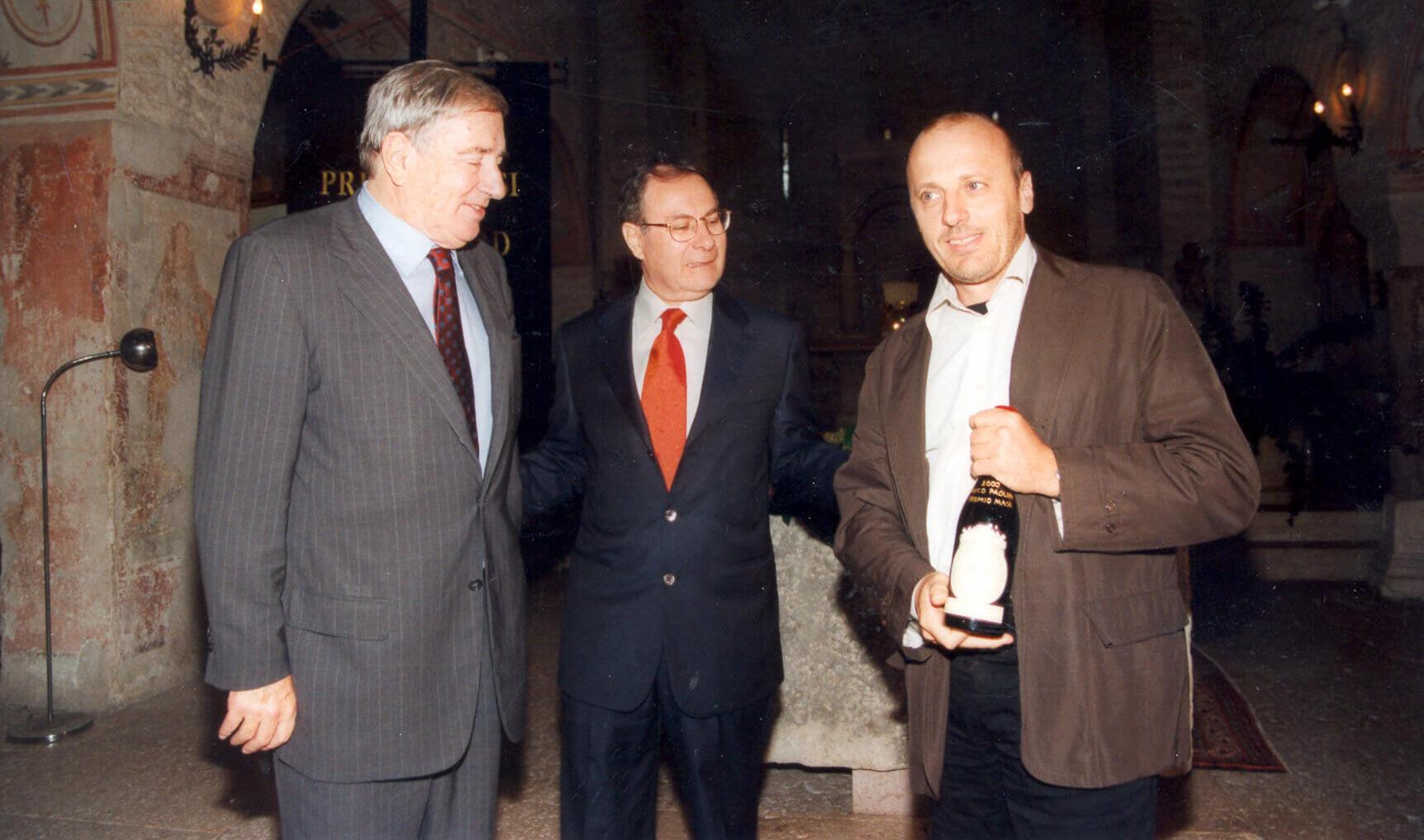Marco Paolini - Premio Masi Civiltà veneta 2000