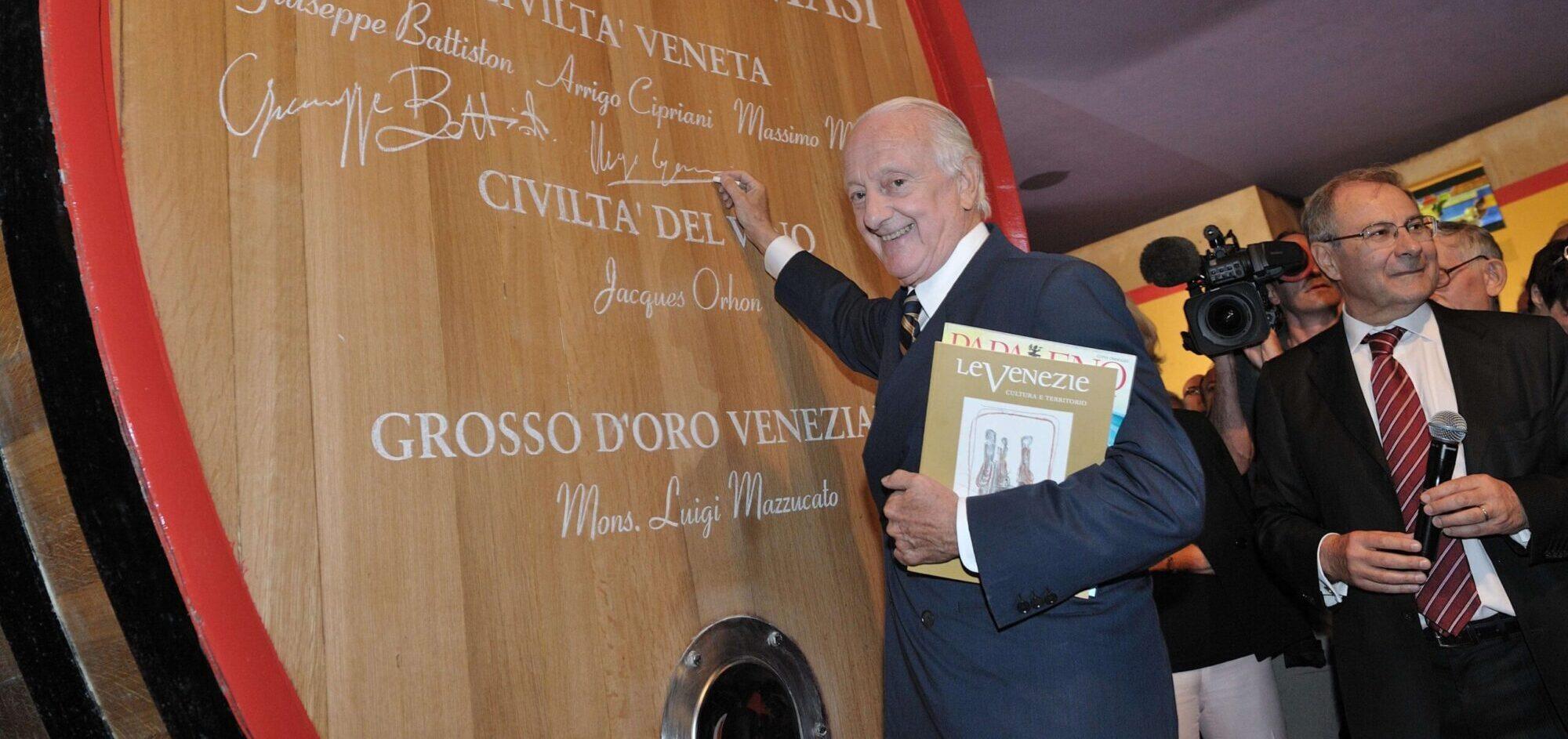 Arrigo Cipriani - Premio Masi Civiltà veneta 2011